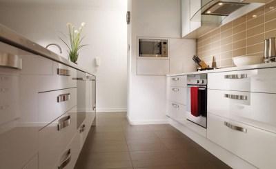 Select Urban High Gloss White Kitchen