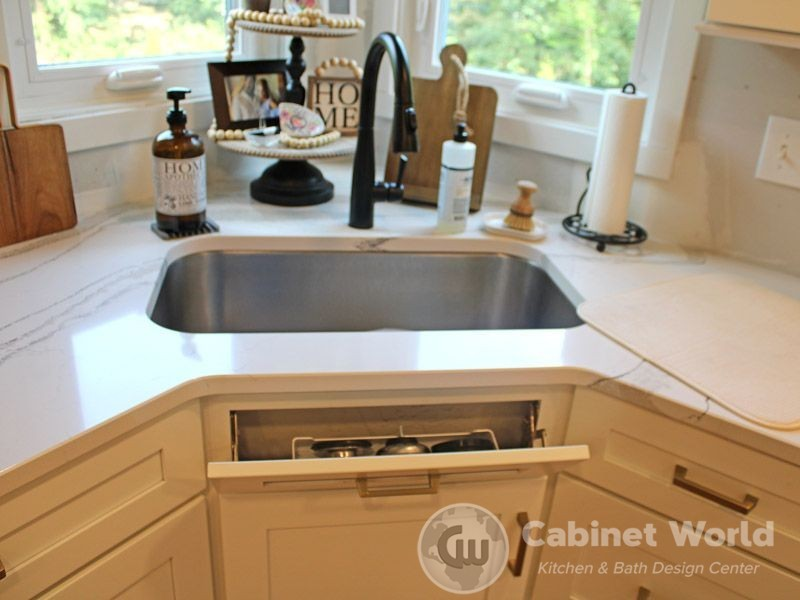 front sink tip out tray cabinet world