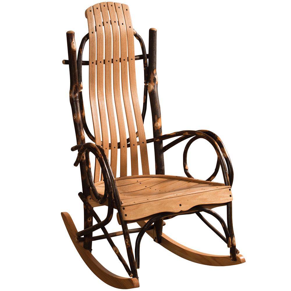 Amish Rocking Chair Hickory Amish Rocking Chair