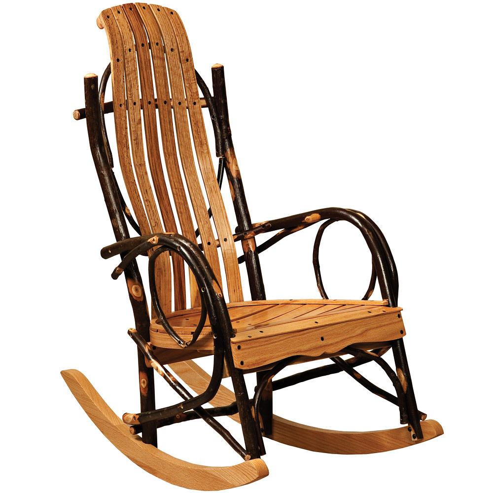 Amish Rocking Chair Hickory Youth Amish Rocking Chair