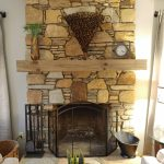 fire place at the loverly