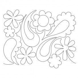 Flower Paisley