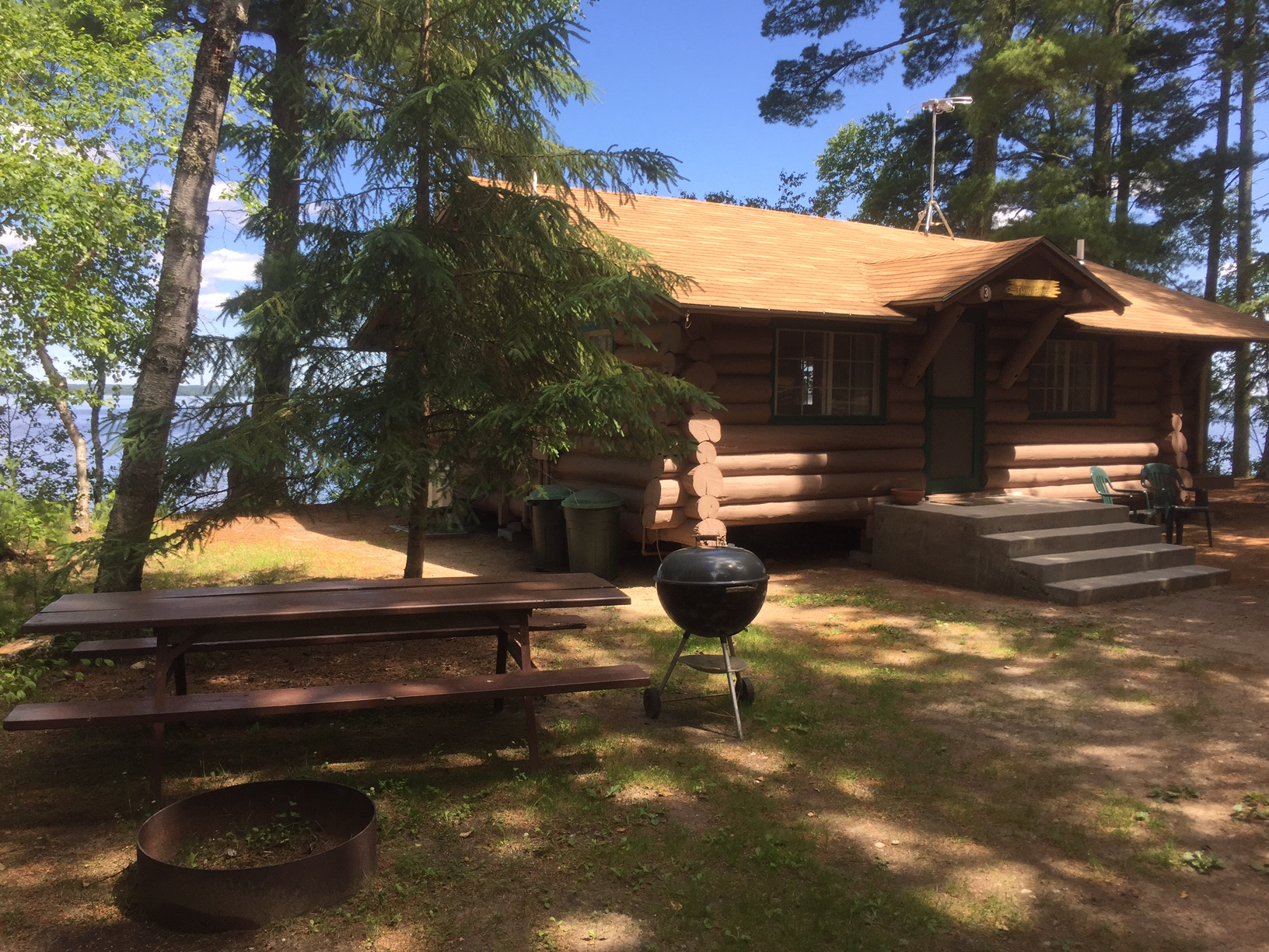 Pelican Lake Minnesota Vacation Cabin Rentals in Orr MN