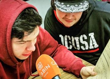 CFLK's Teagan Hardisty and Branden Jumbo