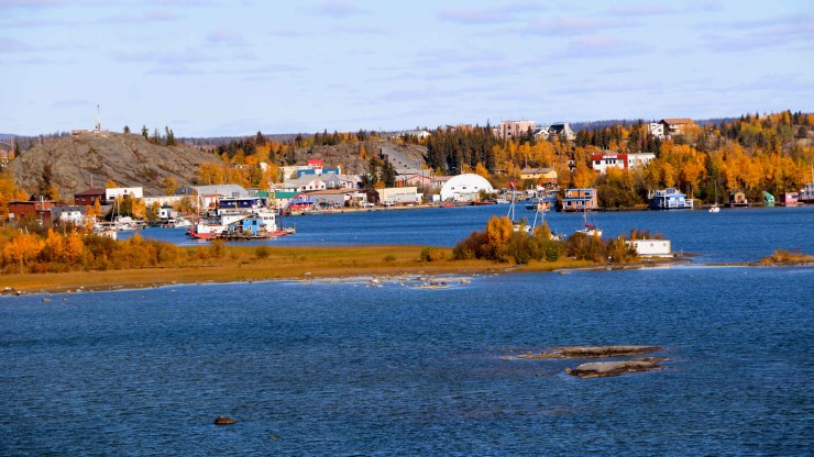 A view of Yellowknife Bay