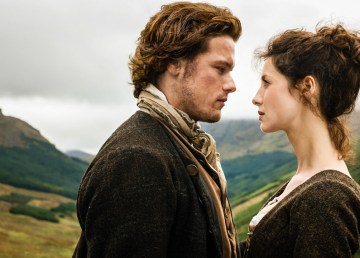 A scene from Outlander