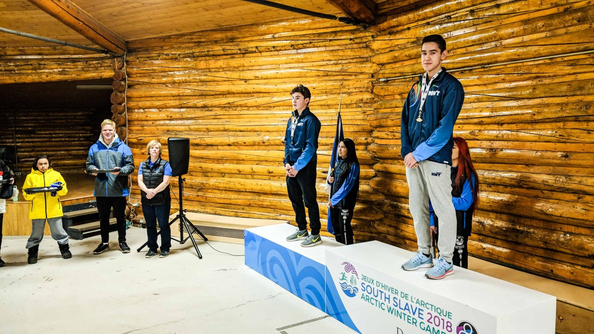 NT speed skaters win six ulus as snowshoeing strikes first