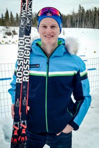 Nicolas Bennett at the 2018 Arctic Winter Games