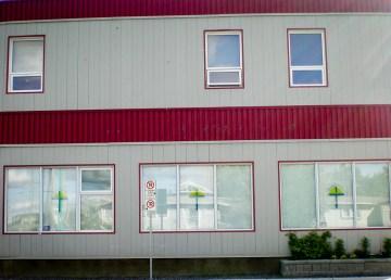 The Yellowknife Catholic School Board building. CambridgeBayWeather-Wikimedia