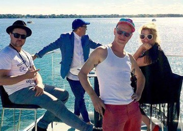 Toronto band Stars in a social media photo