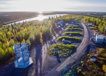 The NWT's Jak Territorial Park, outside Inuvik on the Dempster Highway - Colin Field-NWT Tourism