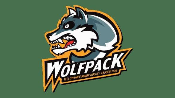 Yellowknife Wolfpack logo