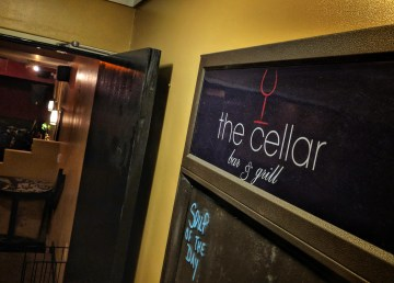 A view of Yellowknife's Cellar bar and grill in May 2018