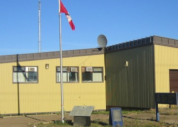 A file photo of the Fort McPherson RCMP detachment