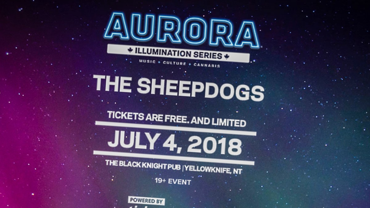 Sheepdogs to play Yellowknife's Black Knight on July 4