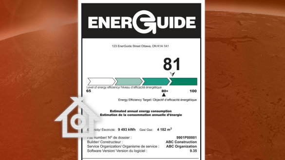 An energy efficiency label