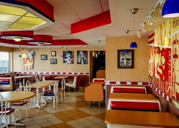 Inside the old Yellowknife KFC days before its closure in 2015