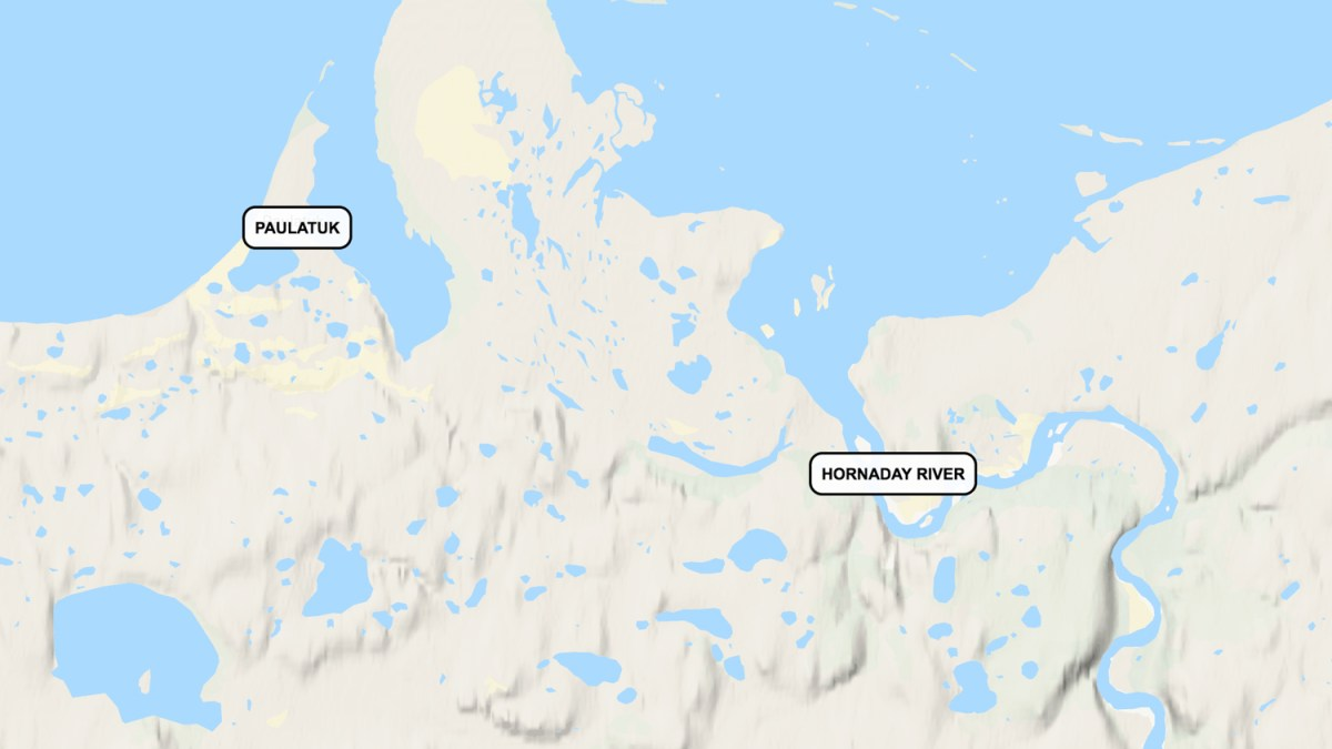 Human remains found near Paulatuk sent for forensic tests