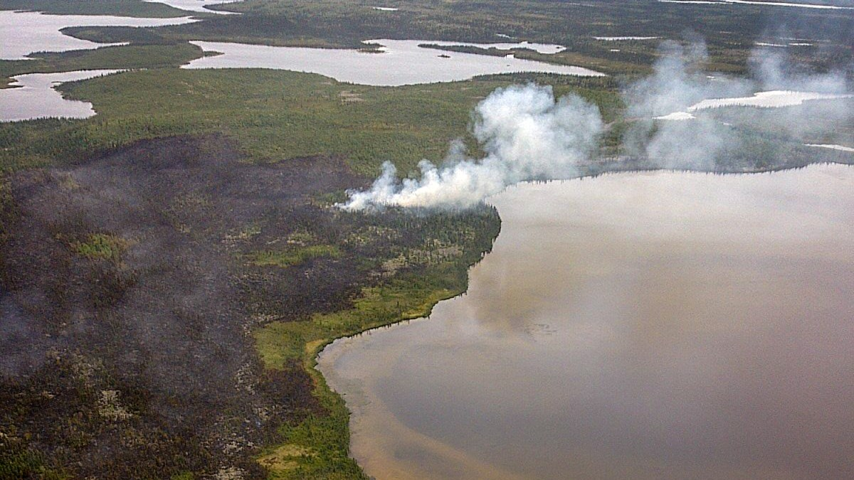 North Slave's first forest fires of summer 2018 recorded