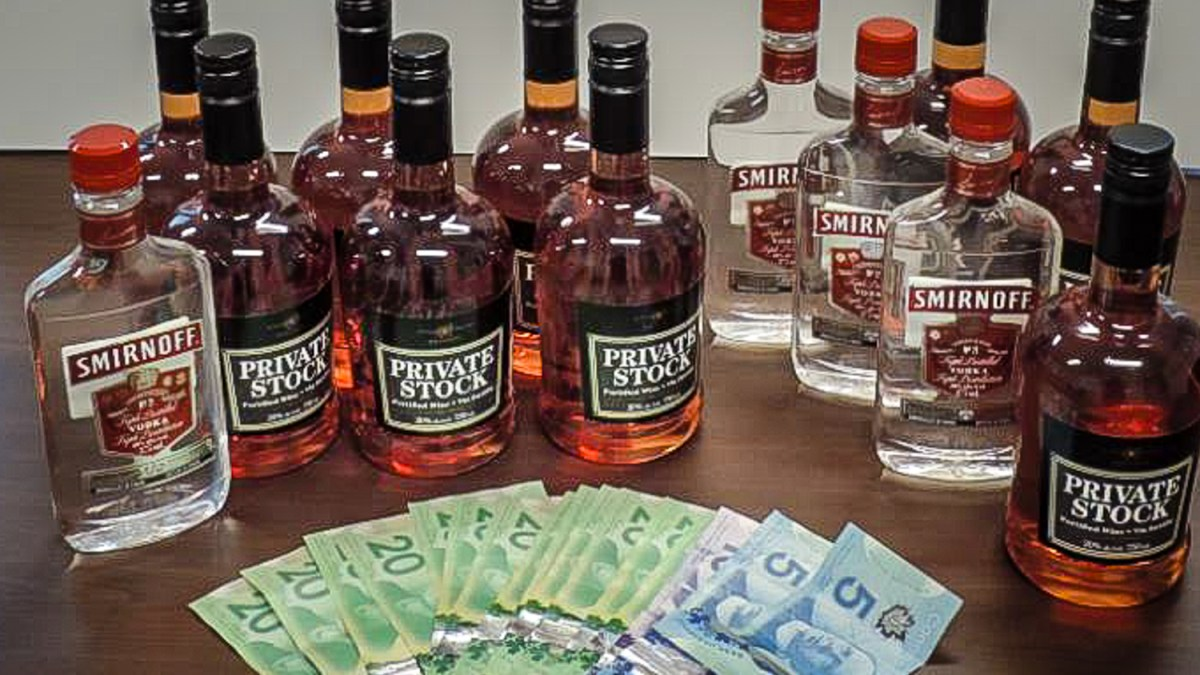 Police say YK man ran illegal liquor store from his car