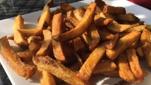 A file photo of French fries. Supplied by Jon Boron.