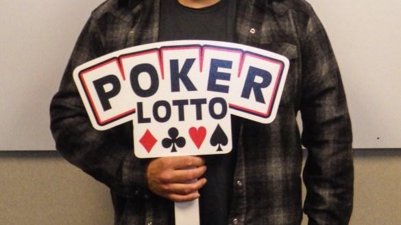 A Western Canada Lottery Corporation handout image of a Yellowknife Poker Lotto winner