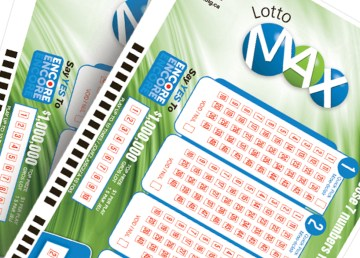 A file image of Lotto Max tickets