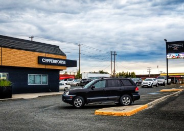 A view of Yellowknife's Copperhouse restaurant in August 2018