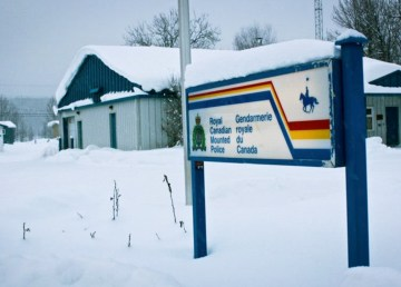 A file photo of Fort Liard's RCMP detachment