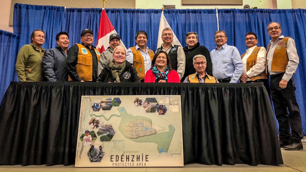 Dehcho's Edéhzhíe becomes first Indigenous protected area