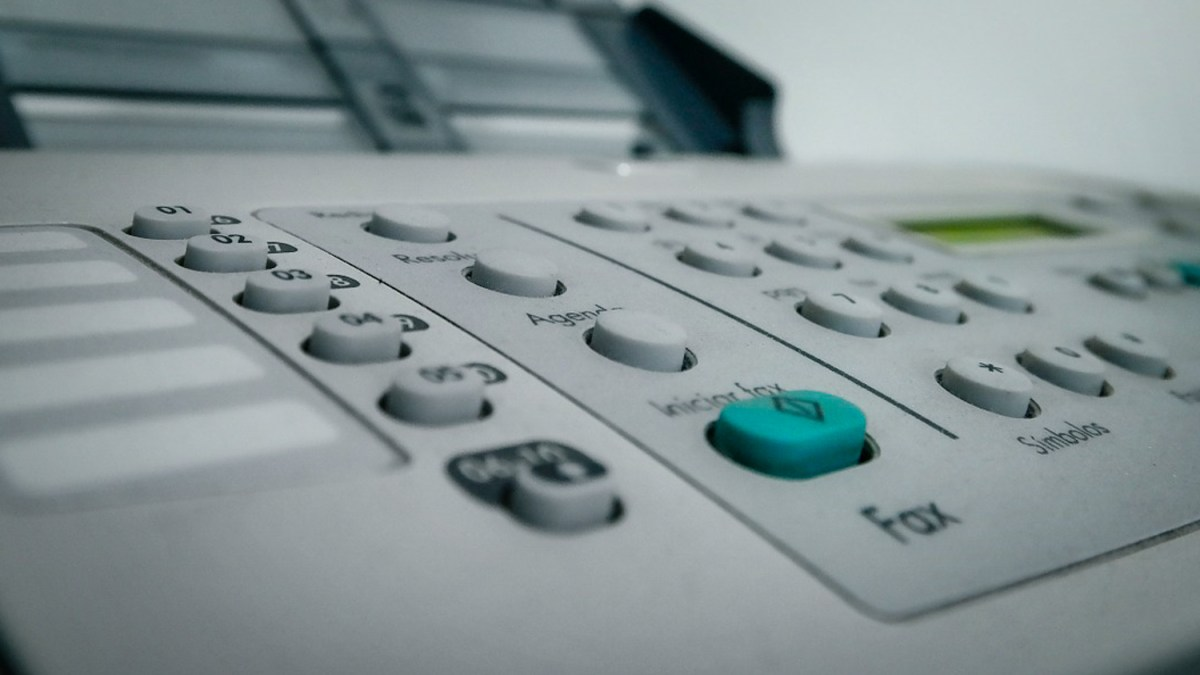 For the love of god stop faxing, NWT health authority told