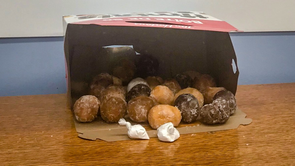 Fort Good Hope man arrested after cocaine found amid Timbits