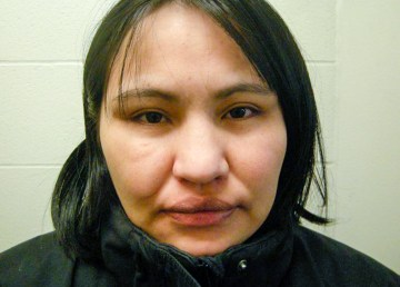 An RCMP handout image of Tina Black, issued in November 2018