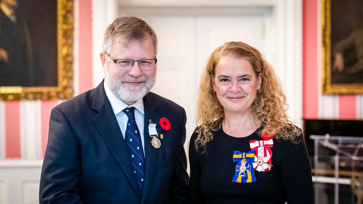 Dr Chris Burn, permafrost expert, receives Polar Medal