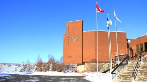 Yellowknife's City Hall is pictured in November 2018
