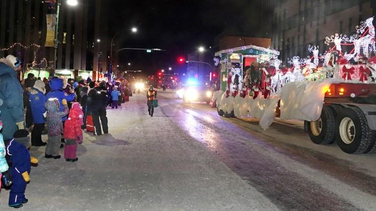 Yellowknife's 2018 Santa Claus Parade