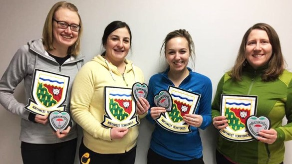 Team Stroeder finished fourth at the 2018 Travelers Curling Club Championship. NWT Curling/Facebook