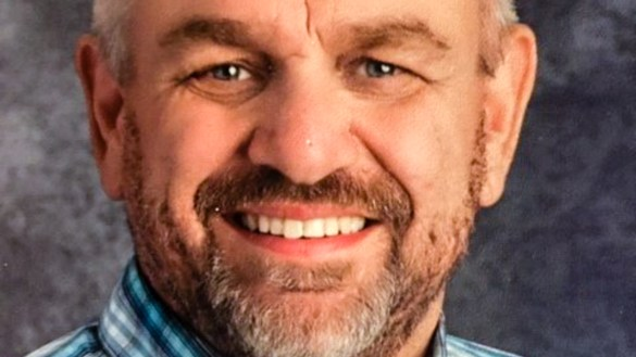 A handout image of Yellowknife school principal Jeff Seabrook
