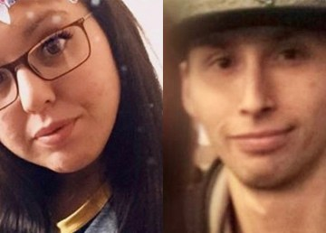 Sasha Cayen, left, and Alex Norwegian appear in undated photos posted to Facebook