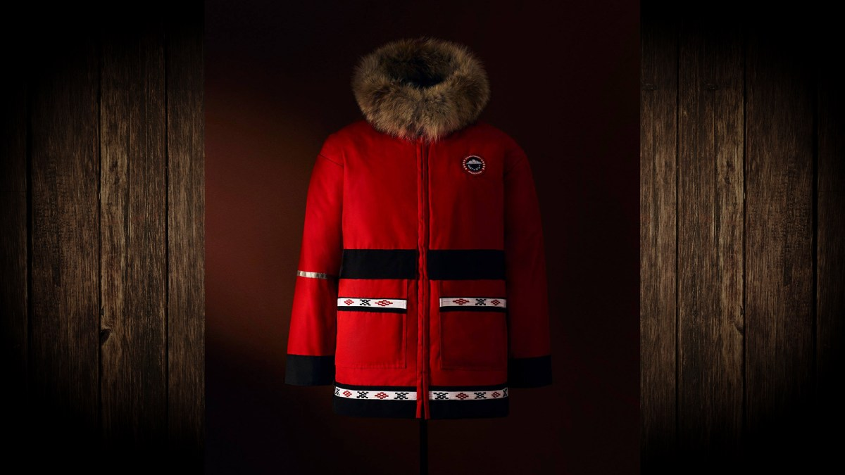 Tuk seamstress' parka included in Canada Goose collection