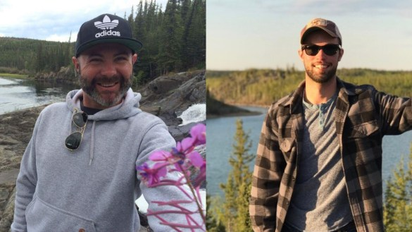 Photos shared by their families Will Hayworth, left, and Zach McKillop.