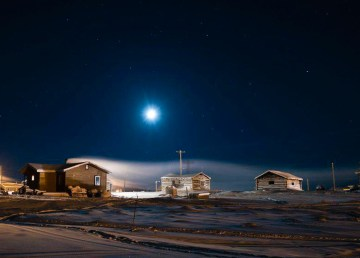 A file photo of the NWT community of Colville Lake in the winter. Pat Kane/Pat Kane Photo