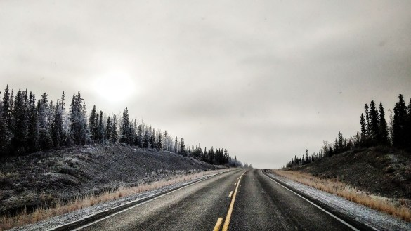 A file photo of a Northwest Territories highway