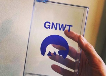 A flask with the GNWT's logo is found on the @retro_gnwt Instagram account.