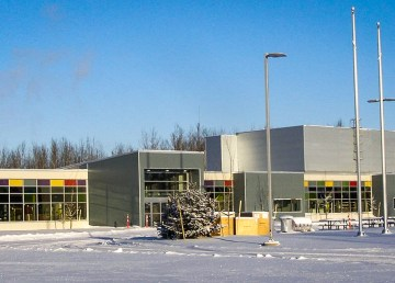 A photo of Hay River's health centre uploaded to the Facebook page of the town's health authority