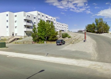 A file Google Streetview image of Yellowknife's Fort Gary apartment building