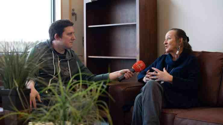 Caroline Cochrane interviewed by Ollie Williams