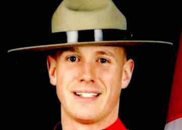 An RCMP photo of the late Cst Christopher Worden