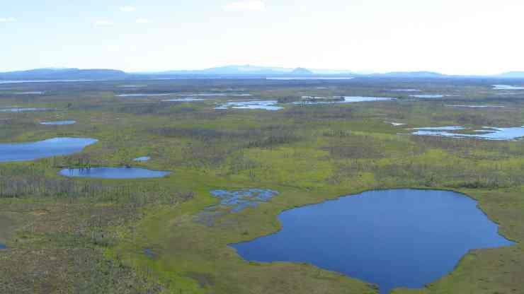 Ts'udé Nilįné Tuyeta is a protected area west of Fort Good Hope