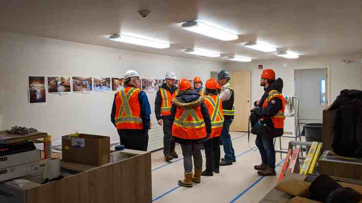 A tour of the renovated Yellowknife emergency women's shelter